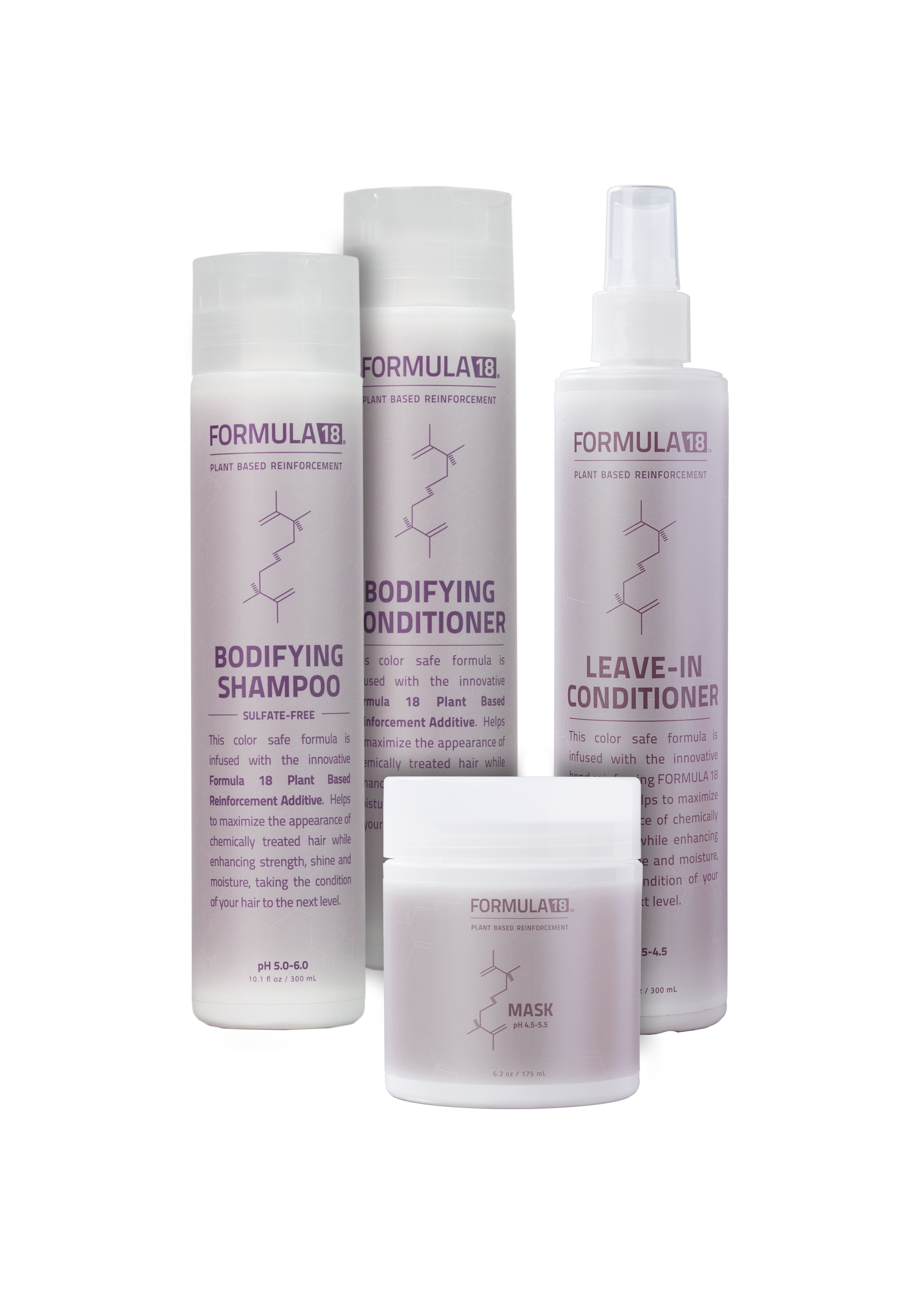 F18 Bundle Complete Hair Kit Bodifying