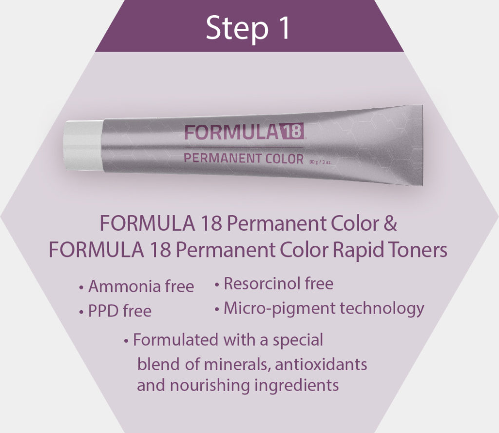 Permanent Color Step 1
