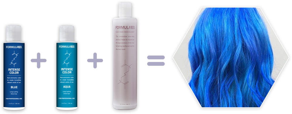 Formula18 Hair Lightening System Maintains The Integrity