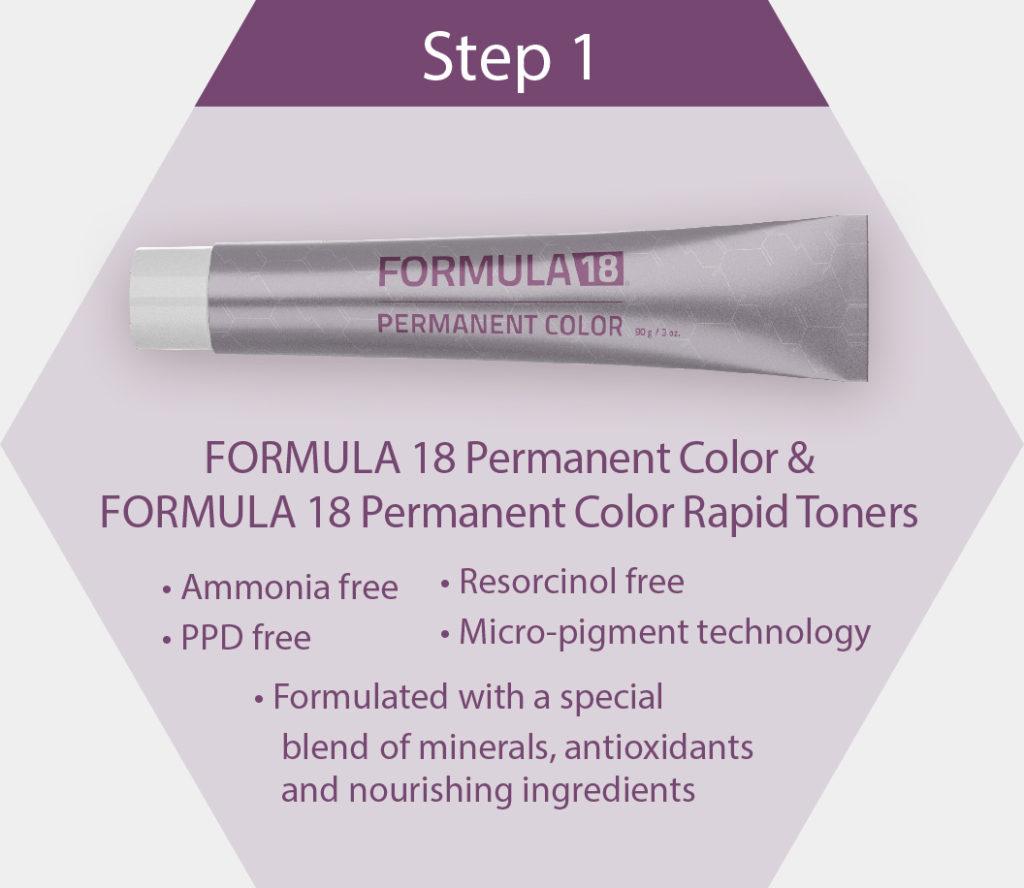 Permanent Color Step 1